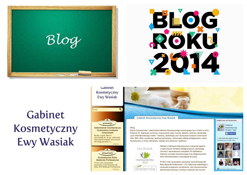 Logo Gabinetu i Konkursu Blog Roku