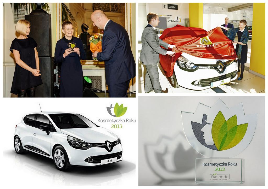 Odbieram samochód - naagrodę główną w konkursie kosmetycznym, Kosmetyczka Roku 2013