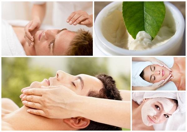 Mężczyzna u kosmetyczki - oczyszczanie twarzy Łódź