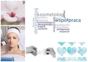 Współpraca dermatologa z kosmetyczką